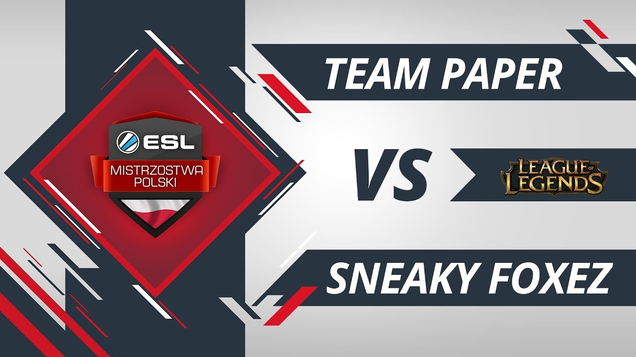 Team Paper vs Sneaky FoxEZ | EMP LoL W5D1 Gra #2