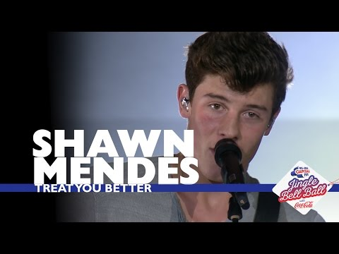 Shawn Mendes  Treat You Better  At Capitals Jingle Bell Ball 2016