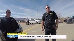 First Amendment Audit - Triumph Aerostructures - Defense Contractor - Red Oak, TX