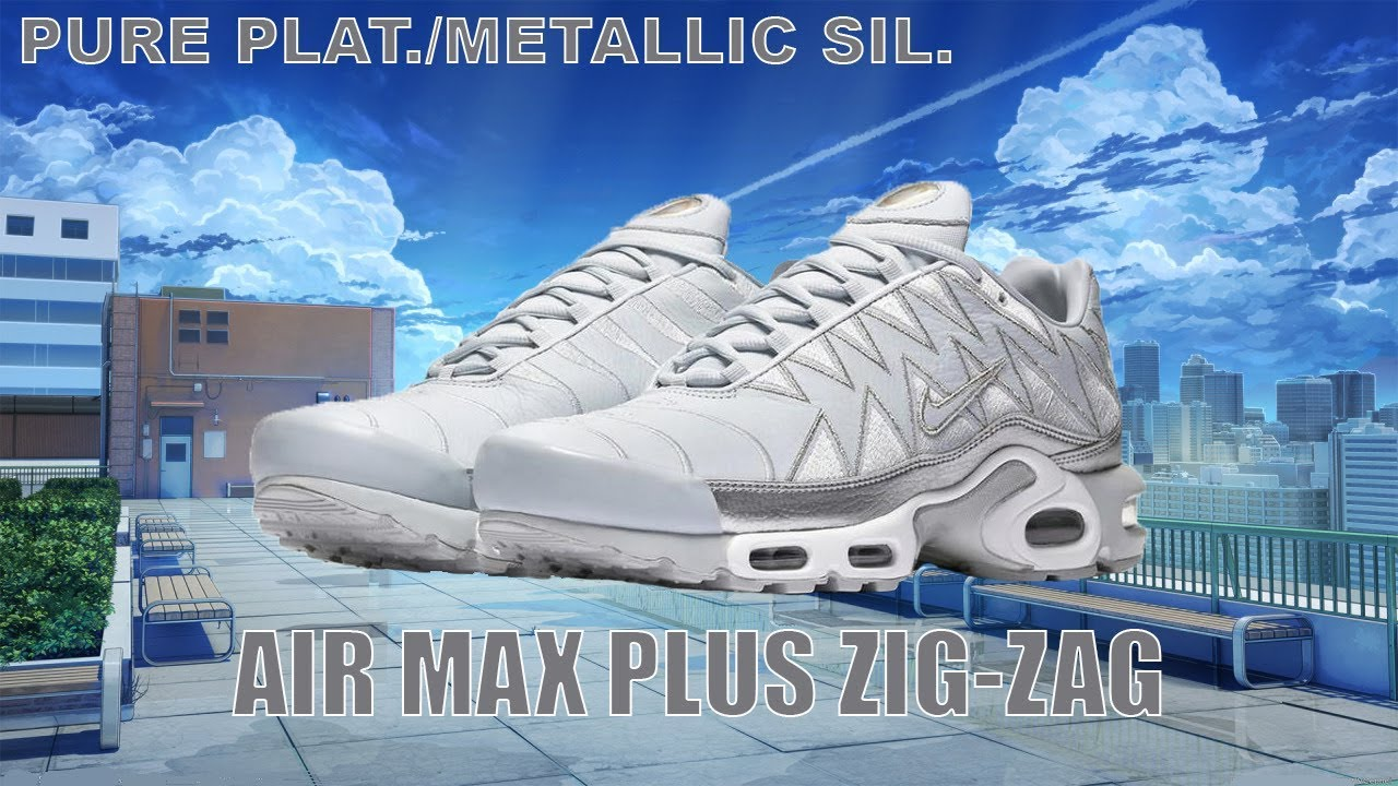 9ca51a01b47e9a AIR MAX PLUS ZIG-ZAG - REVIEW DE SNEAKERS (on feet) - YouTube