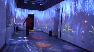 интерактивный зал в музее Сочи.
