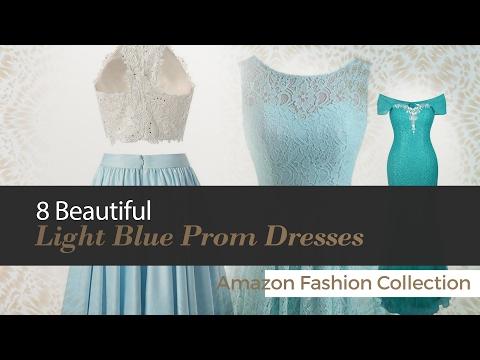 8 Beautiful Light Blue Prom Dresses Amazon Fashion Collection