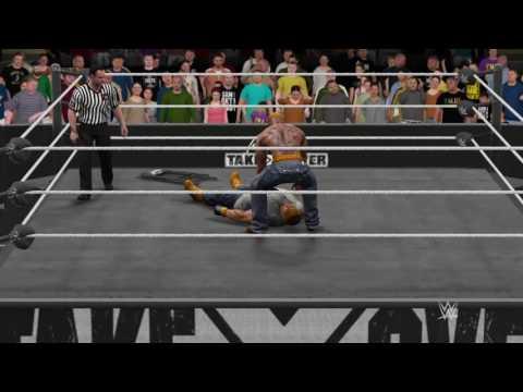 WWE 2K17 Def jam all-stars 2 pac VS House