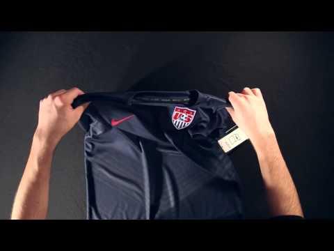 Nike USA 2014 Prematch Training Shirt - Unboxing