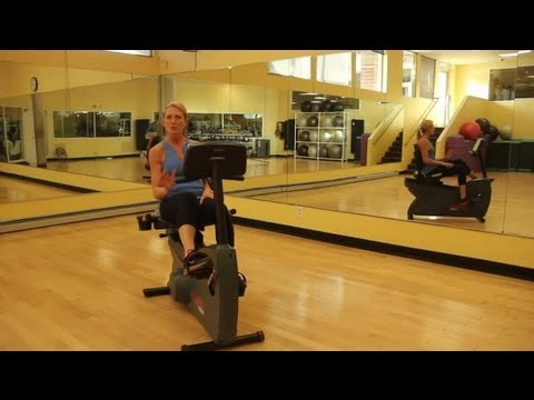 What Muscles Does a Recumbent Bike Work?: Indoor Cycling