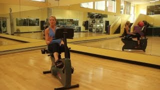 What Muscles Does a Recumbent Bike Work? : Indoor Cycling