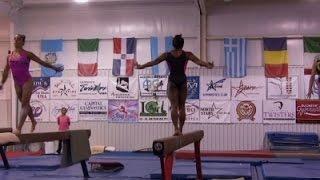 On Cusp of Stardom, Gymnast Biles Stays Grounded