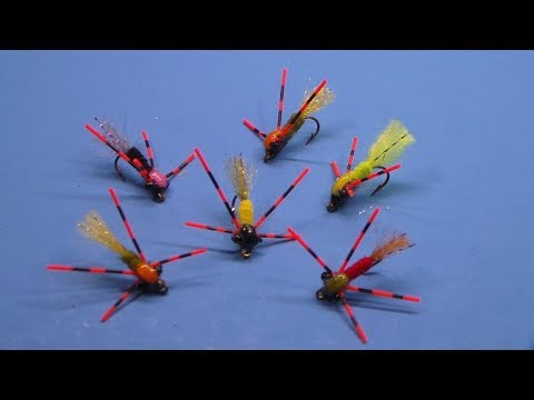 Fly Tying - S. S.  Panfish Glider