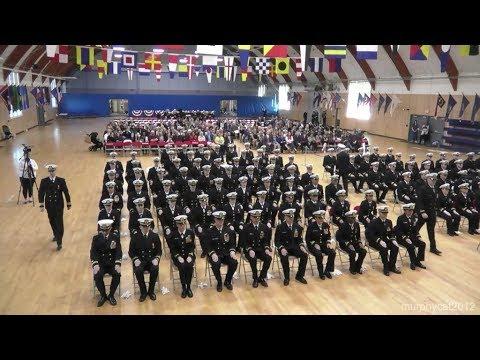Navy Officer Development School Graduation