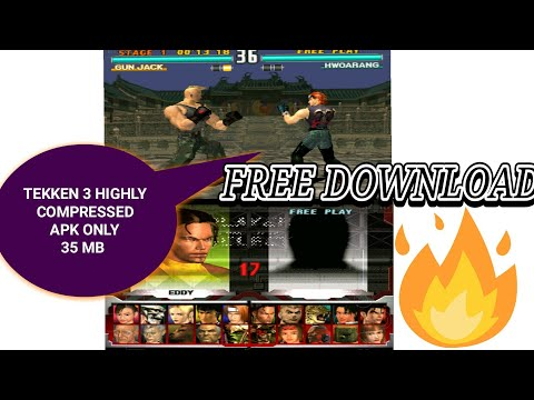 How to download Tekken 3 on highly compressed 20 mb