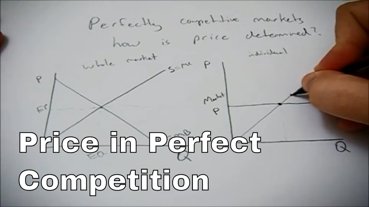 How price is determined in perfect competition