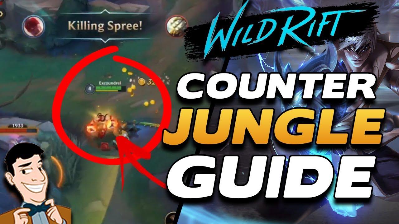 Wild Rift Academy Counter Jungling Basics Win More Games Through Better Jungling Wildrift Guides Youtube