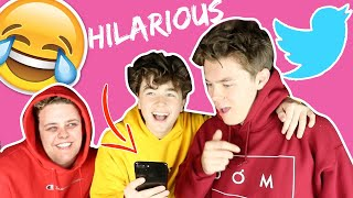 REACTING TO FANS DM