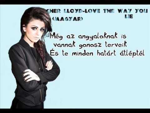 Cher Lloyd- Love The Way You Lie (magyar)