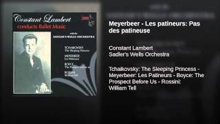 Meyerbeer - Les patineurs: Pas des patineuse