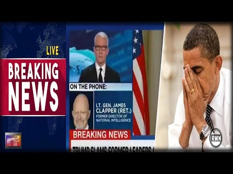 BREAKING! Obama's Intel Chief PANICS - Sells Out Obama on Live TV: 'He was behind the WHOLE Thing!'