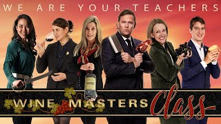 'wine masters class' is a complete wine course about regions, grapes, winemaking and food parings taught by of champion sommeliers.every 2 w...