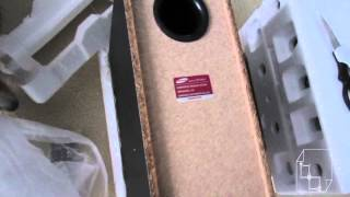 Unboxing Samsung HT-E550 5.1 Home Theatre System DVD USB Sub 1000W HT E550