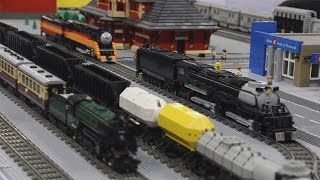 Lego Trains at the Great Edmonton Train Show 2016