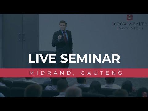 IGrow Wealth Investments Live Seminar (Midrand, Gauteng)