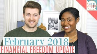 Financial Freedom and Debt Payoff Update February 2018