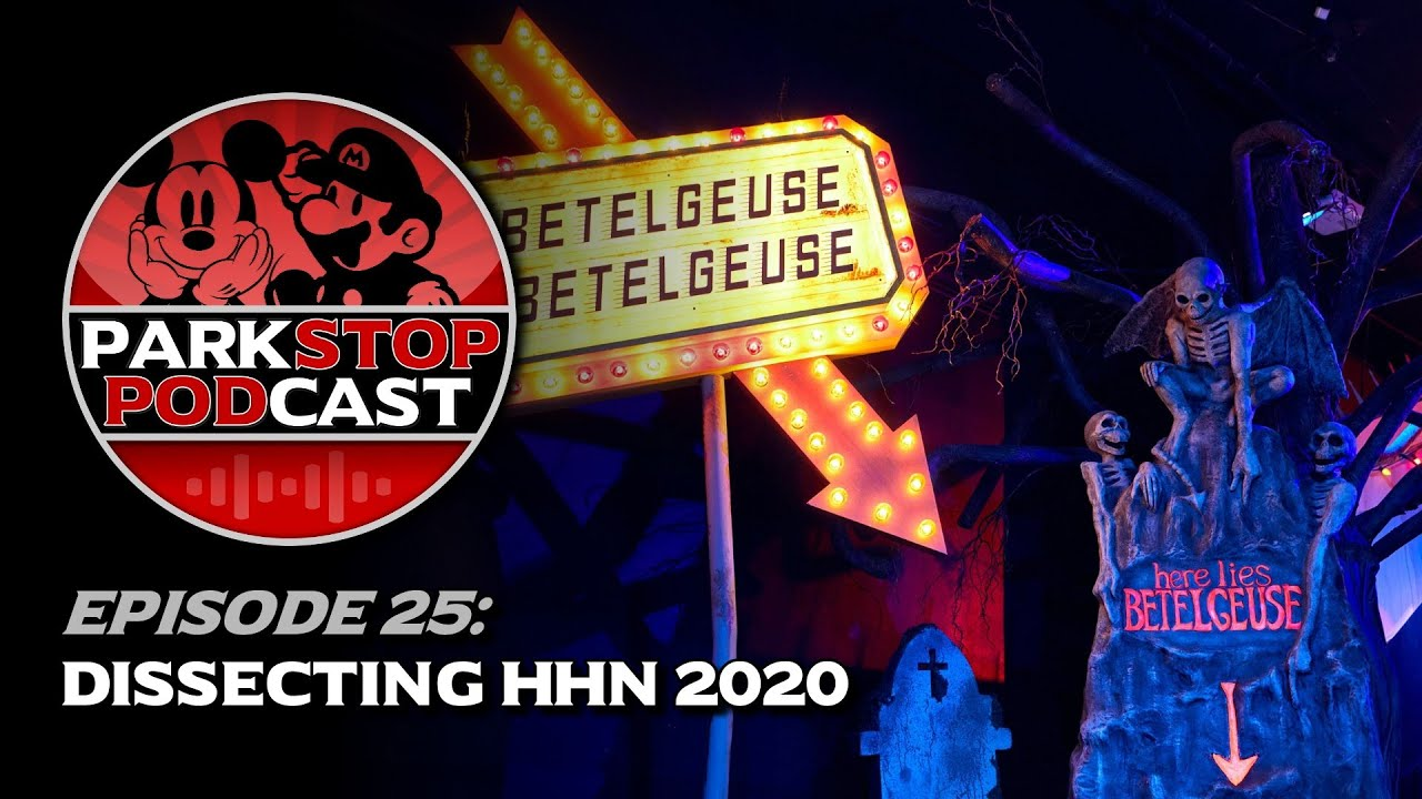 Dissecting Halloween Horror Nights 2020 & Jurassic Wraptors - ParkStop Podcast: Episode 25