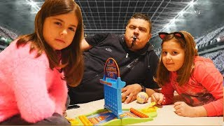 Connect 4 Launchers + LOL LIL SISTERS CHALLENGE / Ariadni Artemi Star / ελληνικά greek