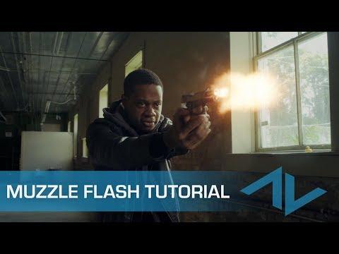 Tutorial: How to composite Muzzle Flashes in Blackmagic Design: Fusion