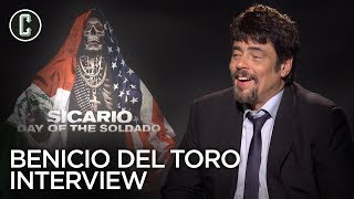 Benicio Del Toro on the Secret to Firing a Gun Without Blinking in 'Sicario: Day of the Soldado'