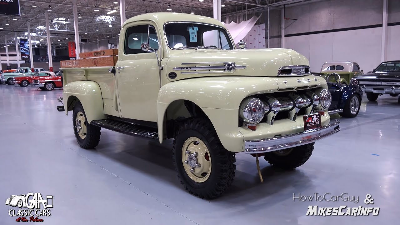 1952 Ford F3 Truck - Marmon-Herrington AWD - Review