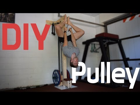 How to make a PULLEY SYSTEM - DIY and Build to last!