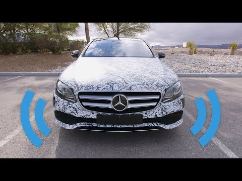 Self Driving Mercedes: Behind the Wheel!