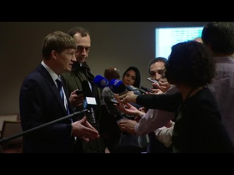 Jonathan Allen (UK) on the situation in the Middle East (Yemen) - Media Stakeout