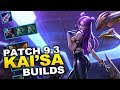 6 different builds Pros use on Kai'sa