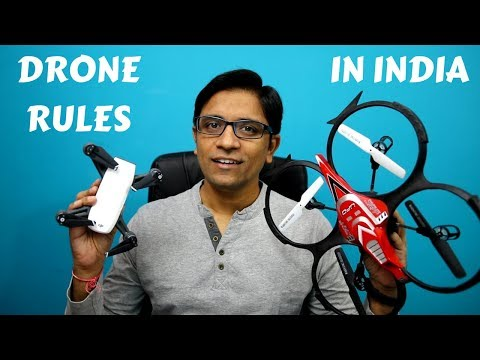 Flying Drones in India, New Rules, Unique Identification No & Info You need to know!