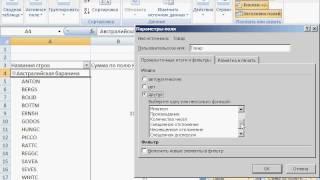 4-5 Поля промежуточных итогов. Excel 2007 для начинающих