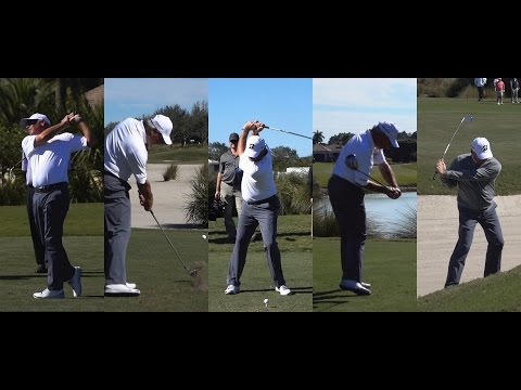 2016 FRED COUPLES 120fps SLOW MOTION & REGULAR GOLF SWING FOOTAGE CHUBB CLASSIC 1080p HD