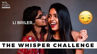 THE WHISPER CHALLENGE Mauritius you won&#39t believe what she said