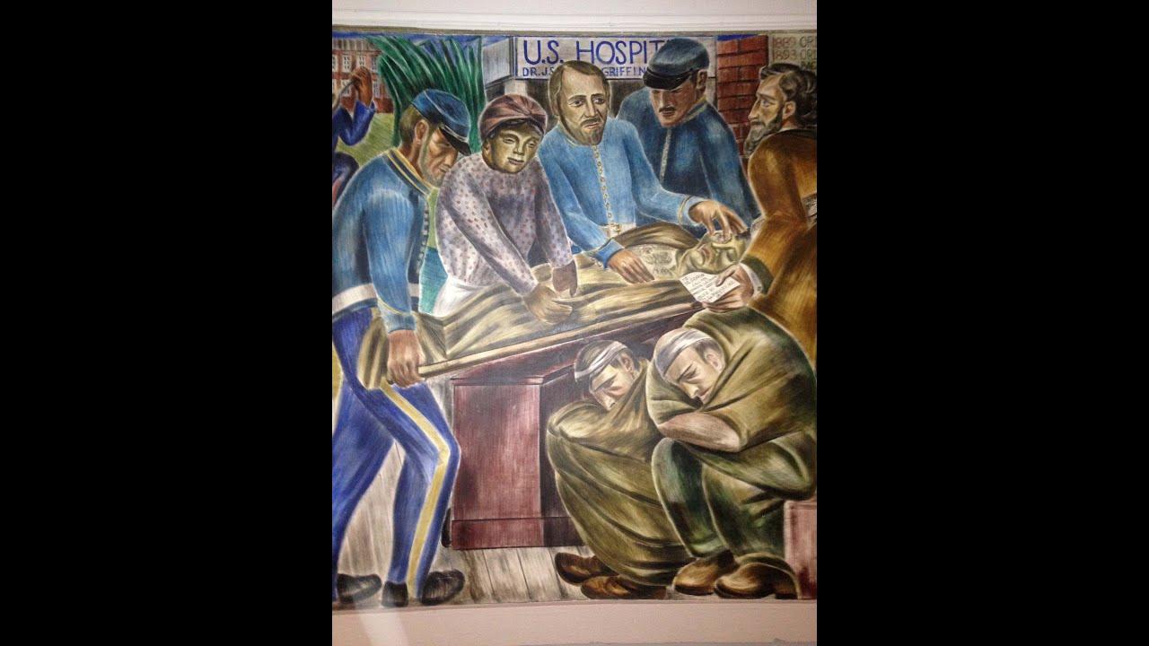 California Black History Under Attack Bernard Zakheim S Ucsf Murals And Bridget Biddy Mason Youtube