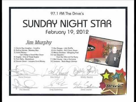 "WDRV 97.1 fm ""The Drive"" - Sunday Night Star 2/19/12"