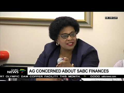 AG concerned about SABC finances