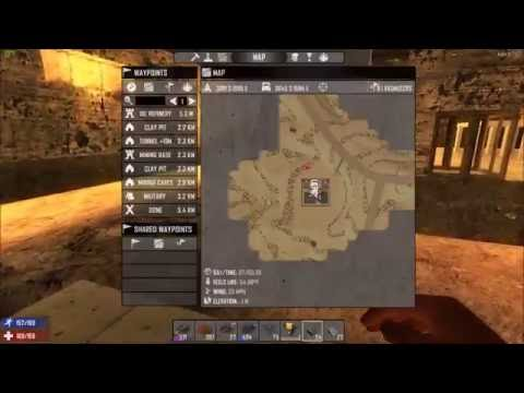 7 Days To Die Alpha 14 Ep 114 Tunnel Construction & Oil Shale Find