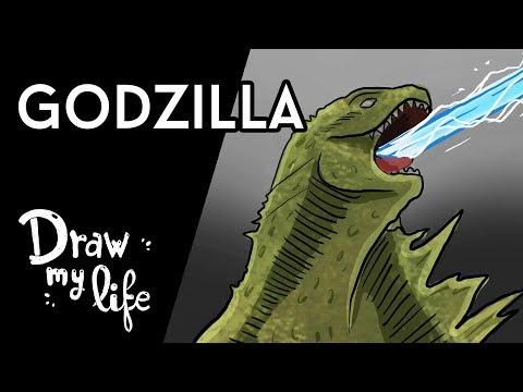 La HISTORIA de GODZILLA - Movie Draw