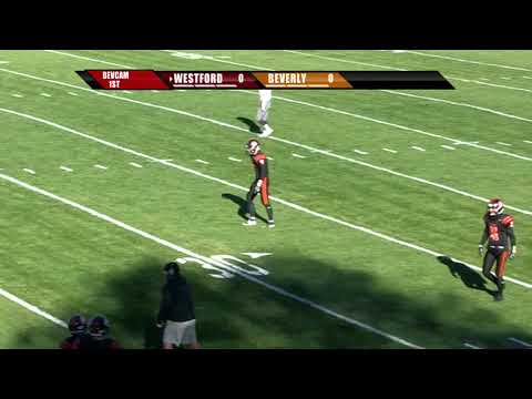 Beverly vs Westford Academy High School Football