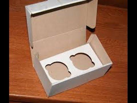 Как сделать коробку кекс 419