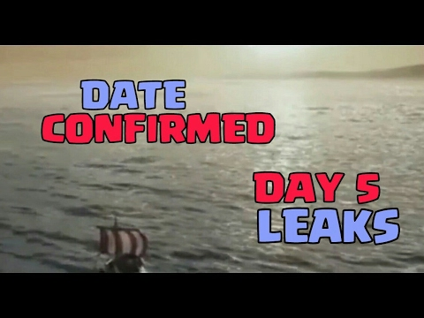 Thumbnail: Captain's Log Day 5 LEAKED!! Video | Update Date CONFIRMED 🤔 Clash of clans