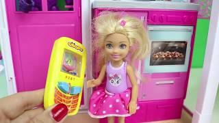 Barbie'nin Yeni Evi Chelsea Barbie Oyuncak Ev Barbie Türkçe Çizgi Filmleri