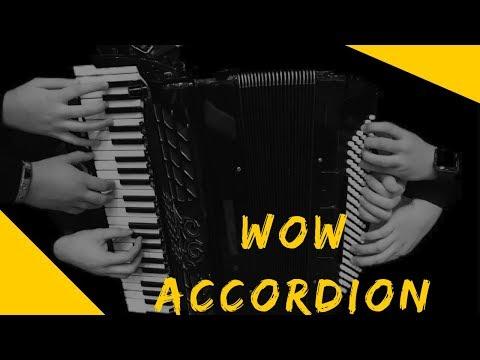 8 рук на одном аккордеоне Аккордеон Шоу Поелуев