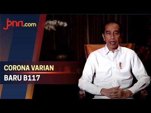 Muncul Varian Baru Covid-19 B117, Ini Kata Jokowi