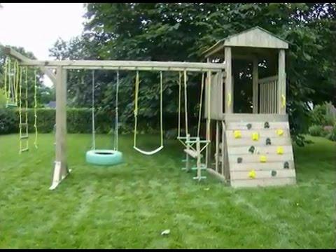 уютный двор-Детские площадки на даче и возле дома